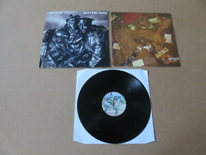 THE JAM Setting Sons POLYDOR EMBOSSED & STICKERED UK 1ST PRESSING LP POLD5008
