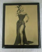 Marilyn Monroe Photo River of No Return on Board w/ Urethane LEG