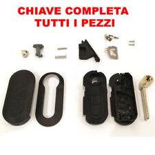 COVER TELECOMANDO FIAT GUSCIO CHIAVE 500 PUNTO PANDA STILO BRAVA NO LOGO pw