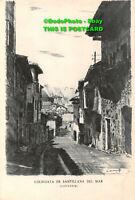 R432845 Colegiata de Santillana del Mar. Santander. No. 1. Calle de Canton. Rue