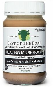 Best of the Bone Mushroom bone broth concentrate w lions mane-reishi-shiitake