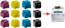 12x Yellow Black Cyan Magenta NON-OEM 8560 XEROX PHASER SOLID INK 108R00725 727