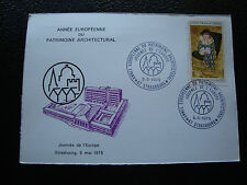 FRANCE - carte 5/5/1975 (patrimoine architectural) (cy80) french