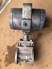 Foxboro 83W-D1HS1SFTNA Wafer Vortex Flowmeter 1500PSI CF8M
