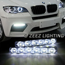 Super Bright 6 LED Daytime Running Light DRL Daylight Kit Fog Driving Lights C00