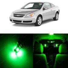 10 x Green LED Interior Light Kit For 2005 - 2010 Chevrolet Chevy Cobalt + TOOL