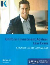Kaplan Series 65 Uniform Investment Adviser Law Exam Securities License Exa