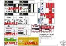 1/18 Diorama PORSCHE Box SET 18 for Shop Garage Accessories By A608