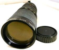 Kamero 85-210mm f4.5 Manual Focus MD lens for Minolta X-370 XD SRT 101 cameras