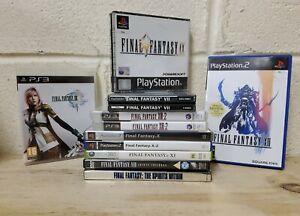11 x Final Fantasy Games Job Lot - Playstation XBOX 360 PS2 PS3 DVD