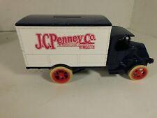 ERTL Die-Cast Metal JCPenny's 1925 Mack Delivery Truck Bank w/ Key - MINT