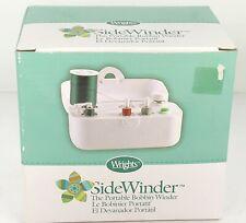 WRIGHTS SideWinder Bobbin Winder Portable w AC Adaptor ORIGINAL (Simplicity) NIB