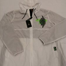 Nike Air Jordan Men's Jumpman Wings Classics Jacket BQ8476-100 White Size Large