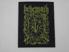 BEHEMOTH FUROR DIVINUS WOVEN PATCH