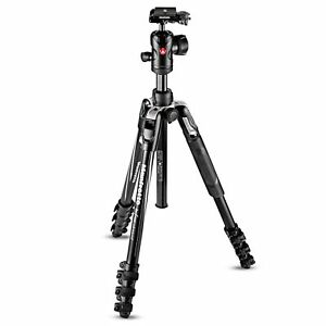 Manfrotto MKBFRLA4BK-BH Befree Advanced Aluminium Lever Lock Tripod with Ball He