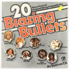 Various, 20 Blazing Bullets  Vinyl Record *USED*