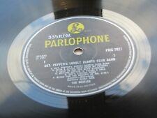 THE BEATLES   SGT PEPPERS 1969  U.K. MONO  BLACK & YELLOW   NO S-I-U-K  TEXT