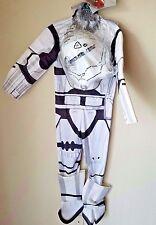 Disney Star Wars Flametrooper Kids' Children's Halloween Costume Sz Medium 8-10