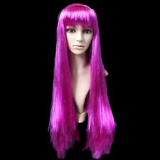 Long Straight Wig Women Heat Resistant Full Wigs Halloween Party Cosplay Wigs #U