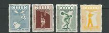 PERU 1948 WEMBLEY OLYMOICS (Scott C78-81) VF MNH fresh