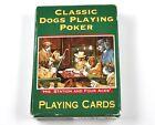 Dogs Playing Póquer perros pokerhunde Juego de Cartas EE.UU. jugando a las Verde