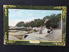 Vintage Postcard - #6 - Jersey - RP La Collette - Lady Child Pushchair  1912