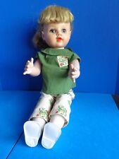 Vintage 1950s Walker Doll- Vinyl Head- Hard Plastic Saucy Walker Style Body