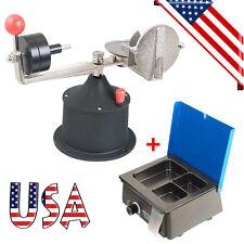 Dental Centrifugal Casting Machine Centrifuge Apparatus Crucibles + Wax Heater