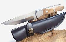 Jagdmesser Campingmesser Fahrtenmesser Outdoormesser inklusive Messerholster N32