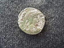 Roman coin of Costans lovely coin uncleaned condition found in Britain L45g