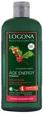 Logona Age Energy Shampoo Bio-Coffein 250ml, vitalisiert & stärkt, vegan