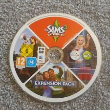 The Sims 3 University Life Expansion Pack for PC DVD Rom / MAC (disc&code)