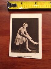 Patinage Sonja Henie Chicoree Belle Jardiniere Foreign Card