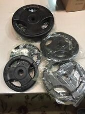 Rubber Bumper Plates -Weight Lifting  35lb. 2.5 5 10 # New 2 Of Each Plate = 35