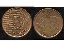 BRESIL  5 centavos  2012  ( bis )