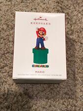 Mario Super Mario Brothers Nintendo 2019 Hallmark Ornament Qxi3199 New In Box