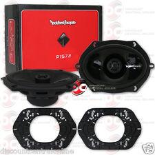 "ROCKFORD FOSGATE P1572 5"" x 7"" 2-WAY CAR AUDIO COAXIAL SPEAKERS (PAIR)"