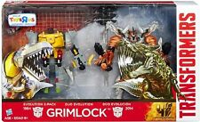 Transformers MOVIE EVOLUTION GRIMLOCK Dinosaur REX Robot Figura Giocattolo Set Di 2