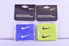 Nike Swoosh Terry Cloth Pair of Bicep Bands