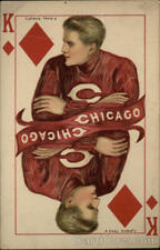 College Girl F. Earl Christy Rare: University of Chicago College King Tuck