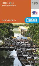 Oxford Witney and Woodstock 180 Explorer Map Ordnance Survey With Digital Downlo