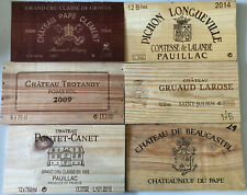 Wine crate panels