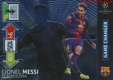 U13 MESSI FC BARCELONA GAME CHANGER CARD CHAMPIONS LEAGUE ADRENALYN 2013 PANINI