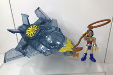 Imaginext Wonder Woman and Invisible Jet with Figure