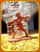 💥 Barzso Col Davey Crockett Alamo Defender Numero uno 54mm 132 Marx size Conte