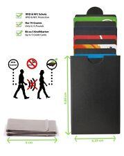 Kartenetui mit Geldklammer | Kreditkartenetui mit RFID Schutz | Slim Wallet