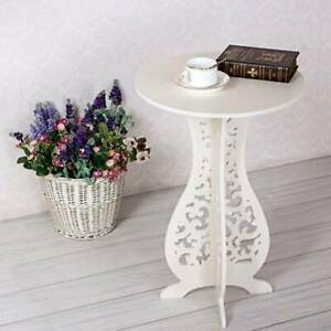 Round Coffee Tea Side End Table Coffee Tables Racks Stand Modern Furniture Table