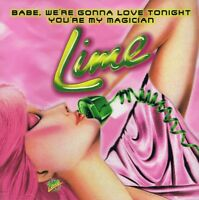 Lime - Babe, We're Gonna Love Tonight - Maxi CD NEU - Youre My Magician