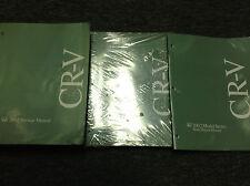 2002 Honda CR-V CRV Service Shop Repair Manual W Electrical Wiring & Body Book