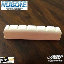 "Sillet Graph Tech Nubone  LC-M644-00 Acoustic Martin  1 3/4"" Slotted nut 44.3mm"